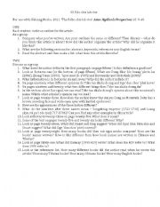 English Worksheets: Academic writing questions for Tibetan students 01
