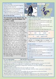 English Worksheets: Ben - a master at ten!