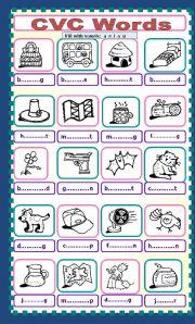 math worksheet : english teaching worksheets cvc words : Vowels And Consonants Worksheets For Kindergarten