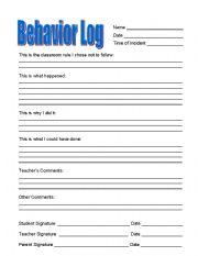 behavior modification plan essay
