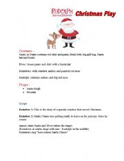 rudolph the red nosed reindeer christmas play