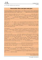 verbs tenses gap filling exercises Narrative tenses : past simple, past perfect, past continuous 1 gap-fill exercise fill in all the gaps, then press check to check your answers use the hint .