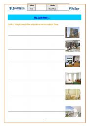 English Worksheets: My apartment