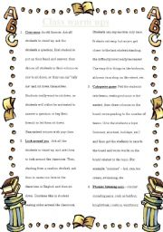 English Worksheet: Class warm ups