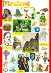 English Worksheet: Ireland poster