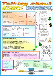 English Worksheet: Business Environment