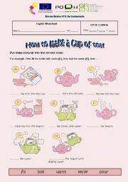 How to make a cup of tea!