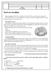English Worksheets: Test 9 th grade -COUNTABLE AND UNCONTABLE