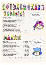 English Worksheets: Question Tags II