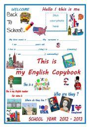 copybook cover