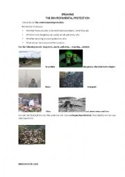 english worksheets environmental protection. Black Bedroom Furniture Sets. Home Design Ideas