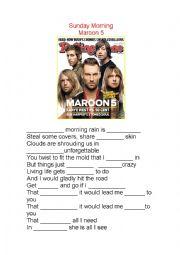 Sunday Morning - Marron 5