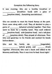 Story on Food