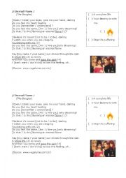Song Activity - Eternal Flame