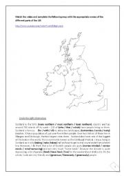 English Worksheet: Describing Geographical locations / Describing famous cities (5 pages)