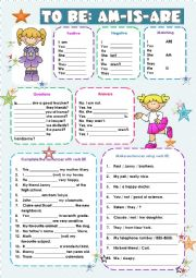 VERB TO BE EXERCISES!!!
