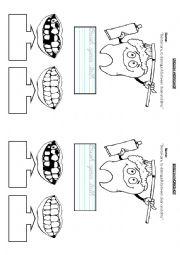 english worksheets dental care. Black Bedroom Furniture Sets. Home Design Ideas