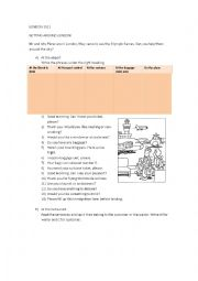 English Worksheet: LONDON 2012
