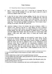 Scrambled Paragraphs Worksheets - resultinfos