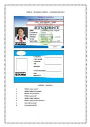 PERSONAL IDENTITY CARD