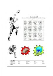English Worksheet: Football Time   American style  KEY