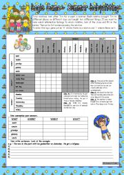 Printables Babysitting Worksheets english worksheets logic game 42nd summer babysitting for worksheet intermediate