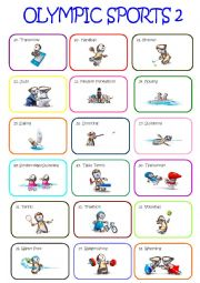 english worksheets olympic sports pictionary. Black Bedroom Furniture Sets. Home Design Ideas