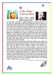 Lady Gaga - A Biography