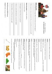 English Worksheet: The Big Bang Theory, Season 1, Episode 11 - The Pancake Batter Anomaly -