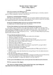 English Worksheets: Theodore Dreiser_Sister Carrie_Chapter 1