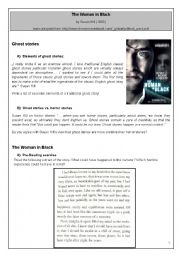 English Worksheets: The Woman in Black