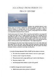English Worksheets: ALCATRAZ