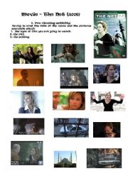 English Worksheets: The Net Film