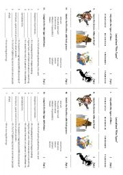 English Worksheets: Film Types - Lexical Test