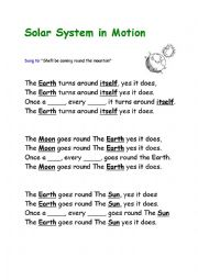 The Solar System The Solar System Song Planets Song For Kids  Planets Lyrics