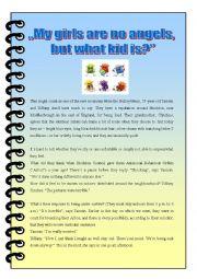 English Worksheets: Teenage behaviour