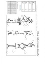 English Worksheets: Phineas and Ferb Body