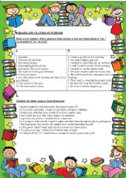 English Worksheet: Clauses of Purpose
