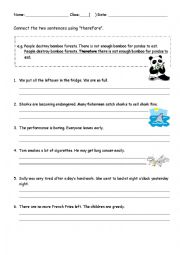 English Worksheets: Using