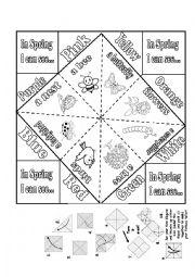Spring fortune teller