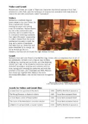 English Worksheets: Wallace and Gromit: A Matter of Loaf and Death