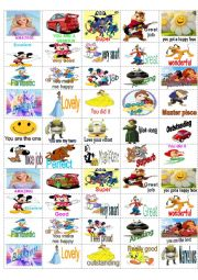 English Worksheet: Stickers for the little ones