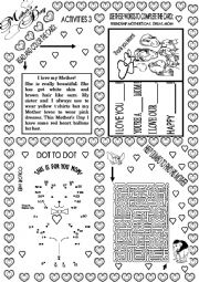 English Worksheet: MOTHER´S DAY ACTIVITIES 4