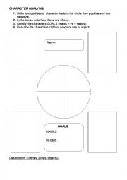 Printables Film Study Worksheet english teaching worksheets movies movie chracater analysis worksheet