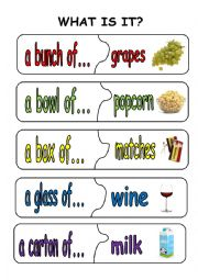 English Worksheet: quantifiers puzzle pieces3