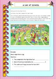 English Worksheet: movers part 5 elementary reading