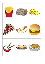 Food flashcards worksheet by lilivalley - Cuisine flash but ...