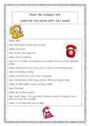 English Worksheets: /�/ sound
