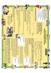 English Worksheet: Introducing Formal/Informal Language