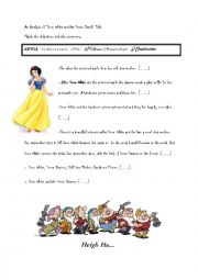 EYFS, KS1, SEN, IPC, storytelling, fairy tales, Snow White, powerpoint